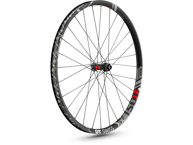 "DT Swiss EX 1501 Spline Roue avant 27,5"" Disc CL 100/15mm Axe traversant, black"